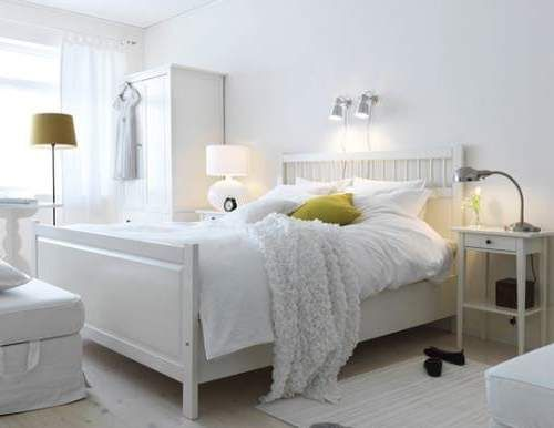 IKEA hack for the Hemnes Queen bedframe Google Search Bedroom apt Pinterest HEMNES, Ikea