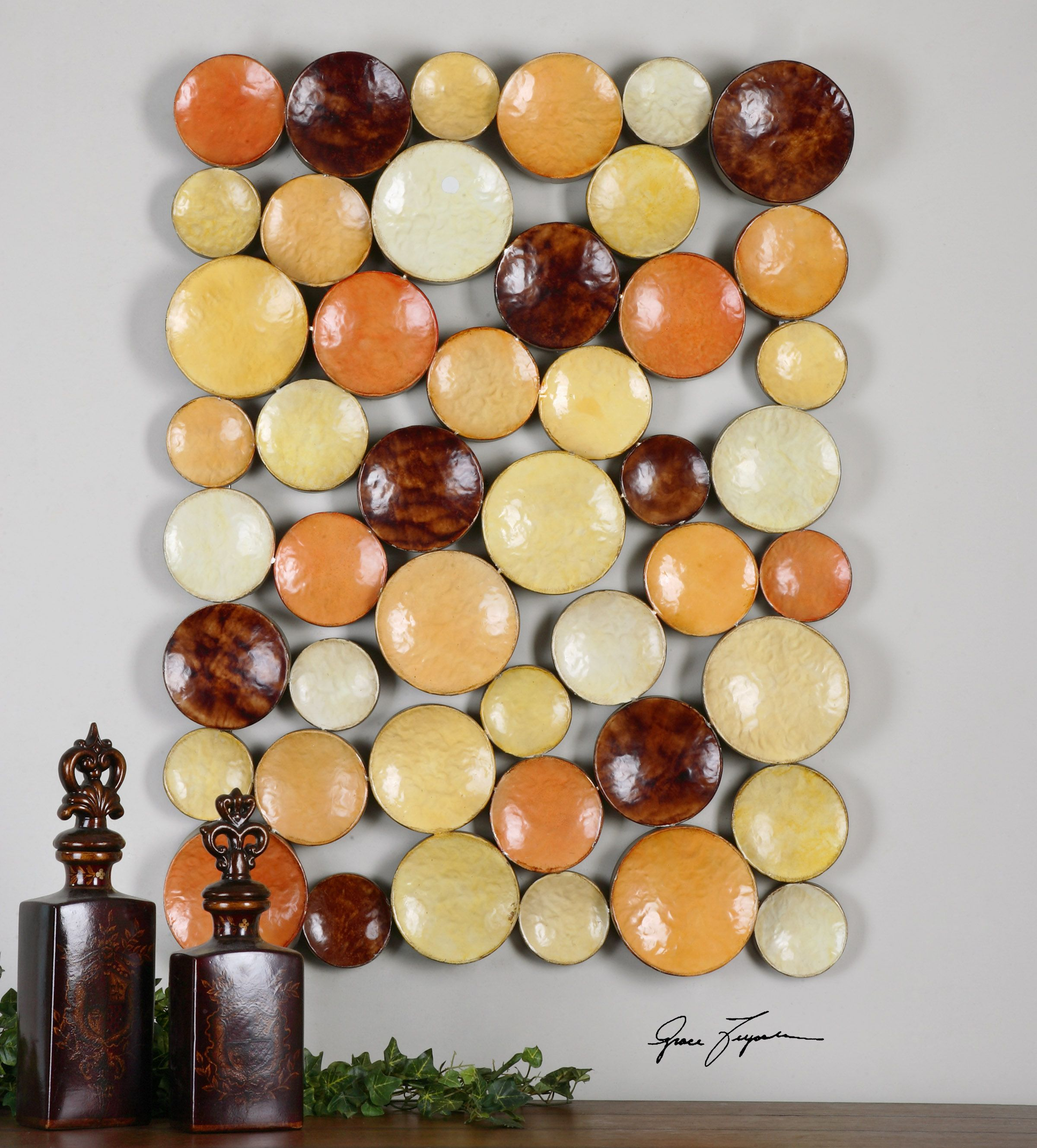 Uttermost Amadeo Disk Wall Art | DECOR: Wall Hangings | Pinterest ...