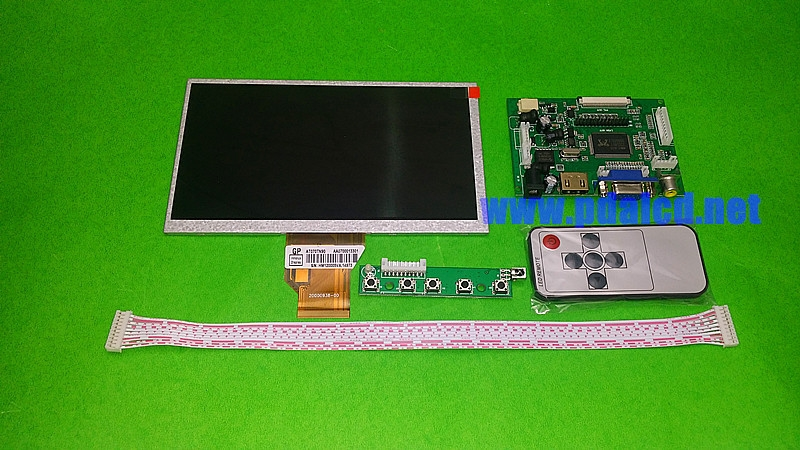 """(31.50$)  Know more  - """"for INNOLUX 7.0"""""""" inch Raspberry Pi LCD Display Screen TFT LCD Monitor AT070TN92 + Kit HDMI VGA Input Driver Board Free Shipping"""""""