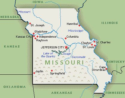 Greenwich Mean Time GMT Is Never Adjusted Backwards Or Forwards - Missouri usa map