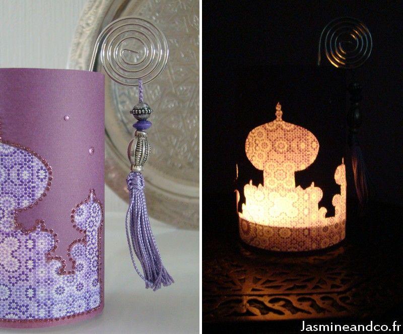 Moroccan diy candle jar faire une lanterne orientale - Fabriquer une lanterne ...