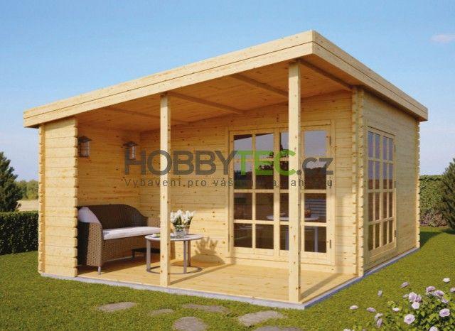 Dřevěný Zahradní Domek Carl 387x387m Hobbyteccz