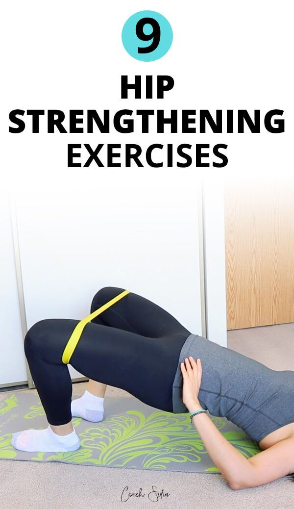 9 Exercises To Stabilize Your Hips And Strengthen The Glutes