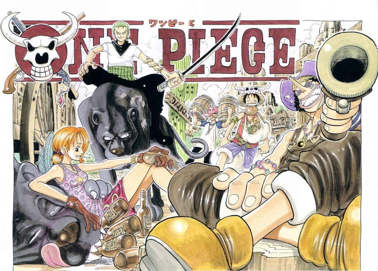 One Piece Hq Covers Collection 8 Illustrazioni Westie Colori