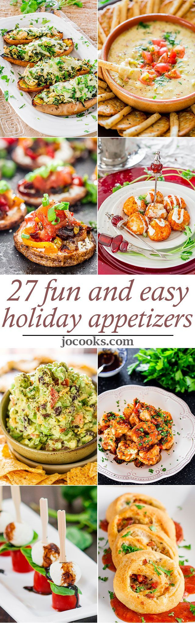 27 Easy and Fun Holiday Appetizers