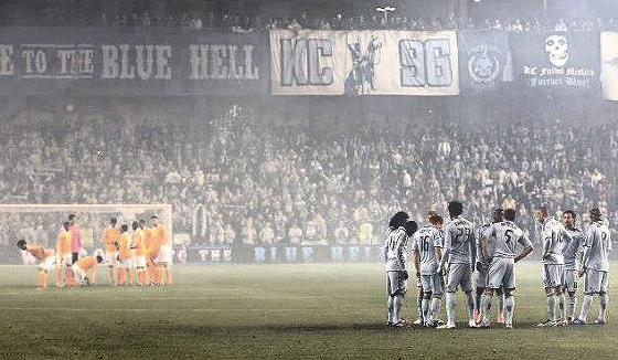 Sporting KC's season ended last night at Livestrong