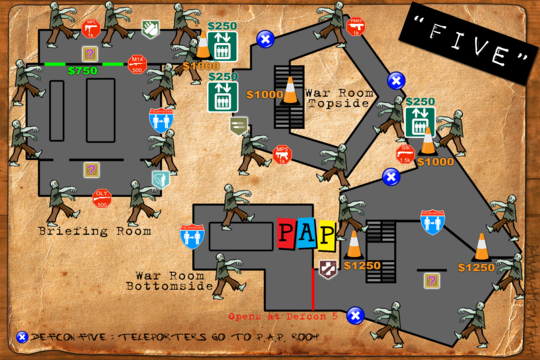 Black Ops Zombies Five Map Layout | Ryan - Black Ops Party on