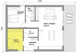 Berühmt CUBIG Minihaus Grundriss | Design in 2019 | Grundrisse kleiner SV86