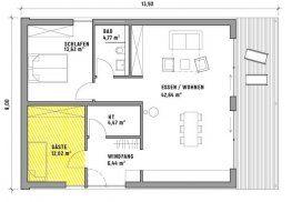 CUBIG Minihaus Grundriss Grundriss wohnung, Haus