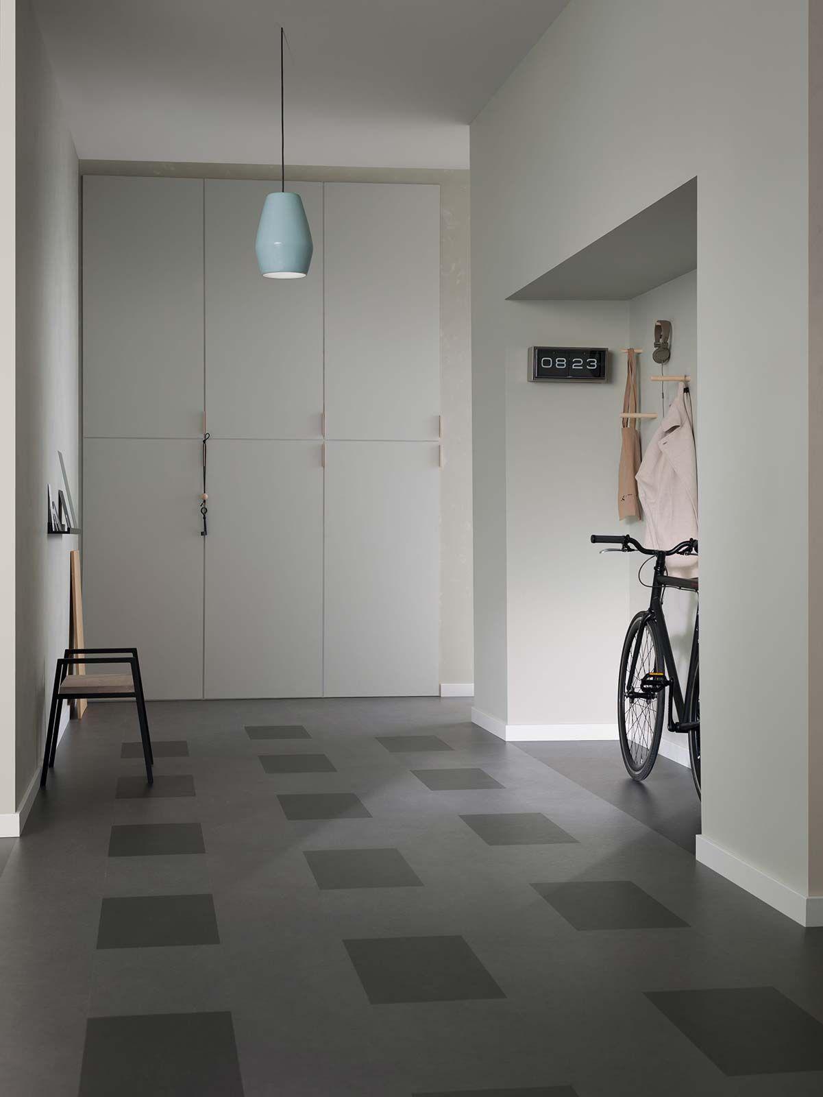 Linol um en dalles clipsables forbo marmoleum click for Dalle de sol pour chambre