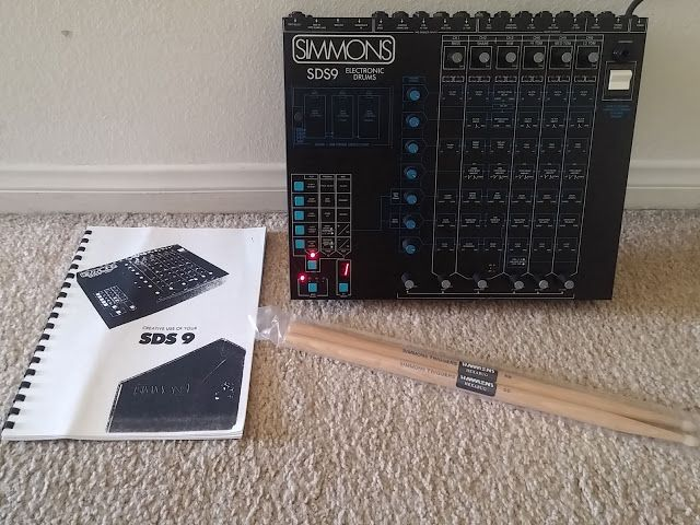 Matrixsynth Vintage Simmons Drums Sds9 Electronic Drum Synthes Electronic Drums Drums Synthesizer