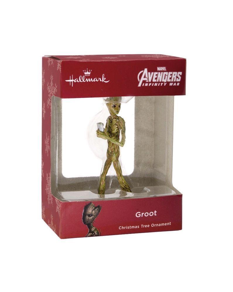 Details About Hallmark 2018 Marvel Avengers Infinity War Groot
