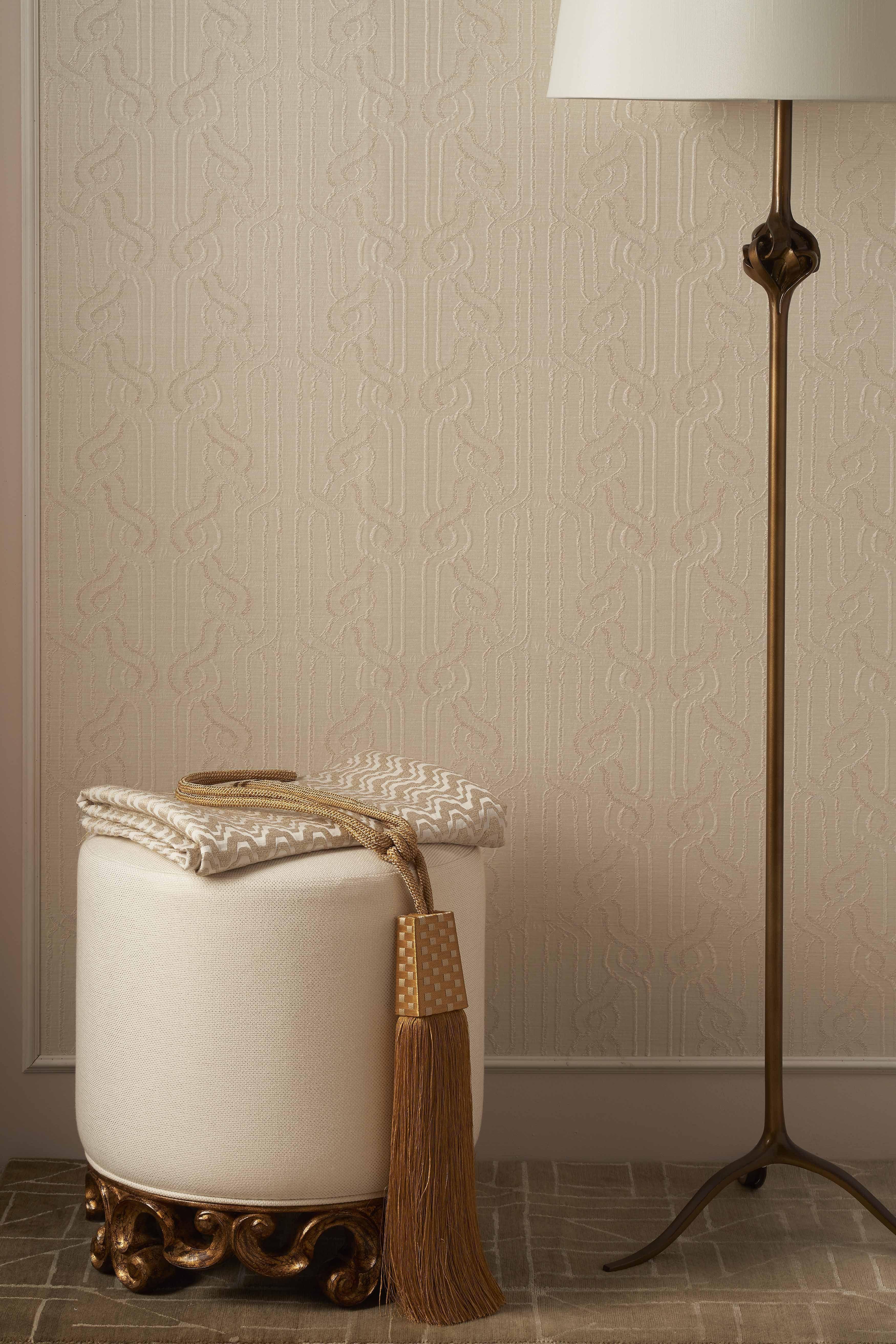 Eclairage Floor Lamp Antique Brass Christopher Guy Sikim Rug Grey Jacarandacarpet Glyph London Design Week Beautiful Lighting Christopher Guy
