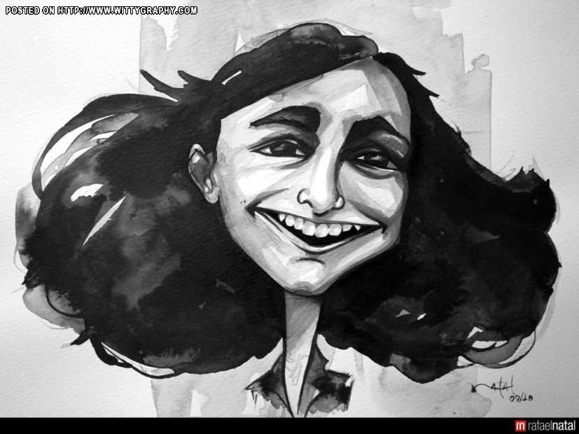 character sketch of anne frank