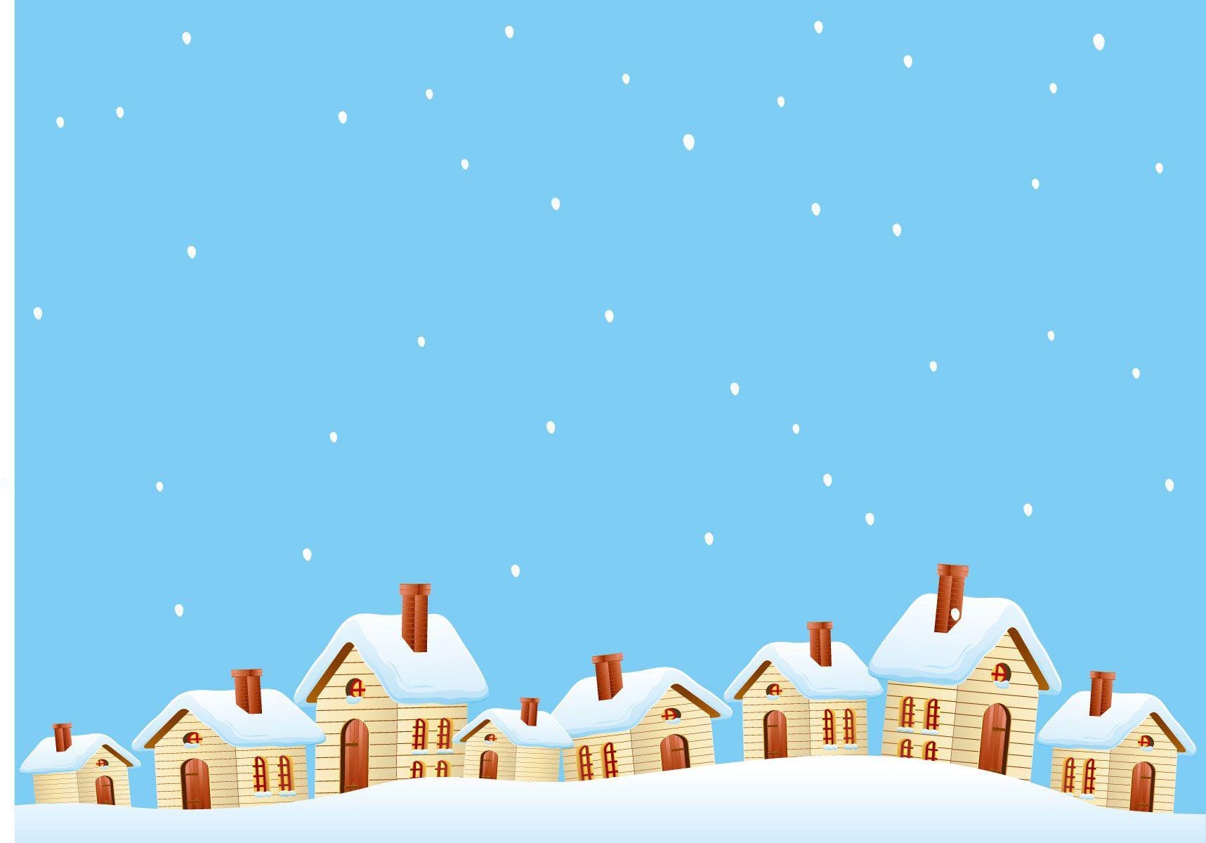 冬の画像サンプル-雪積もる家々 | 季節〜冬、winter | pinterest | snow