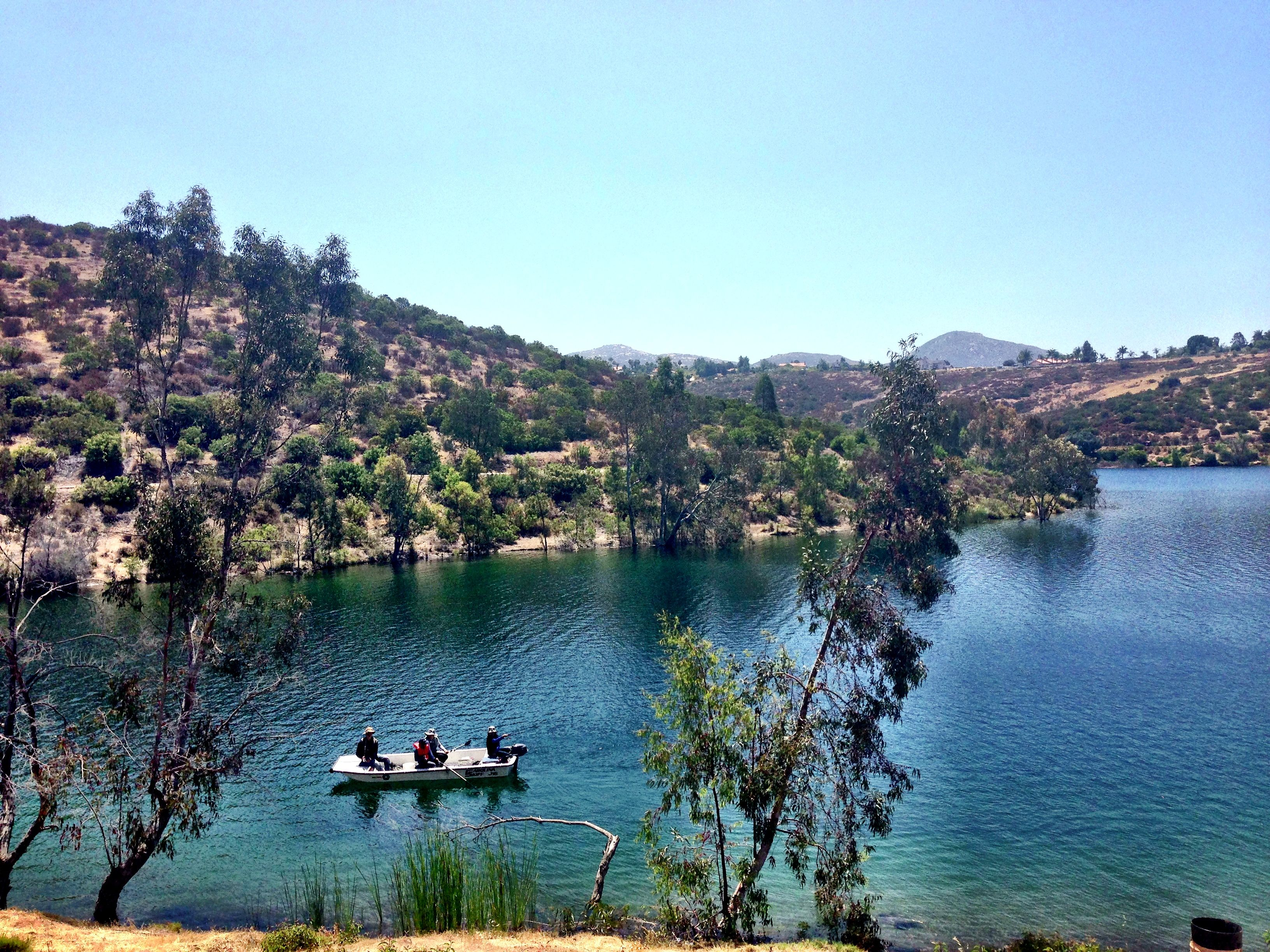 Located of mapleview rd in lakeside is beautiful lake for Fishing lakes in san diego