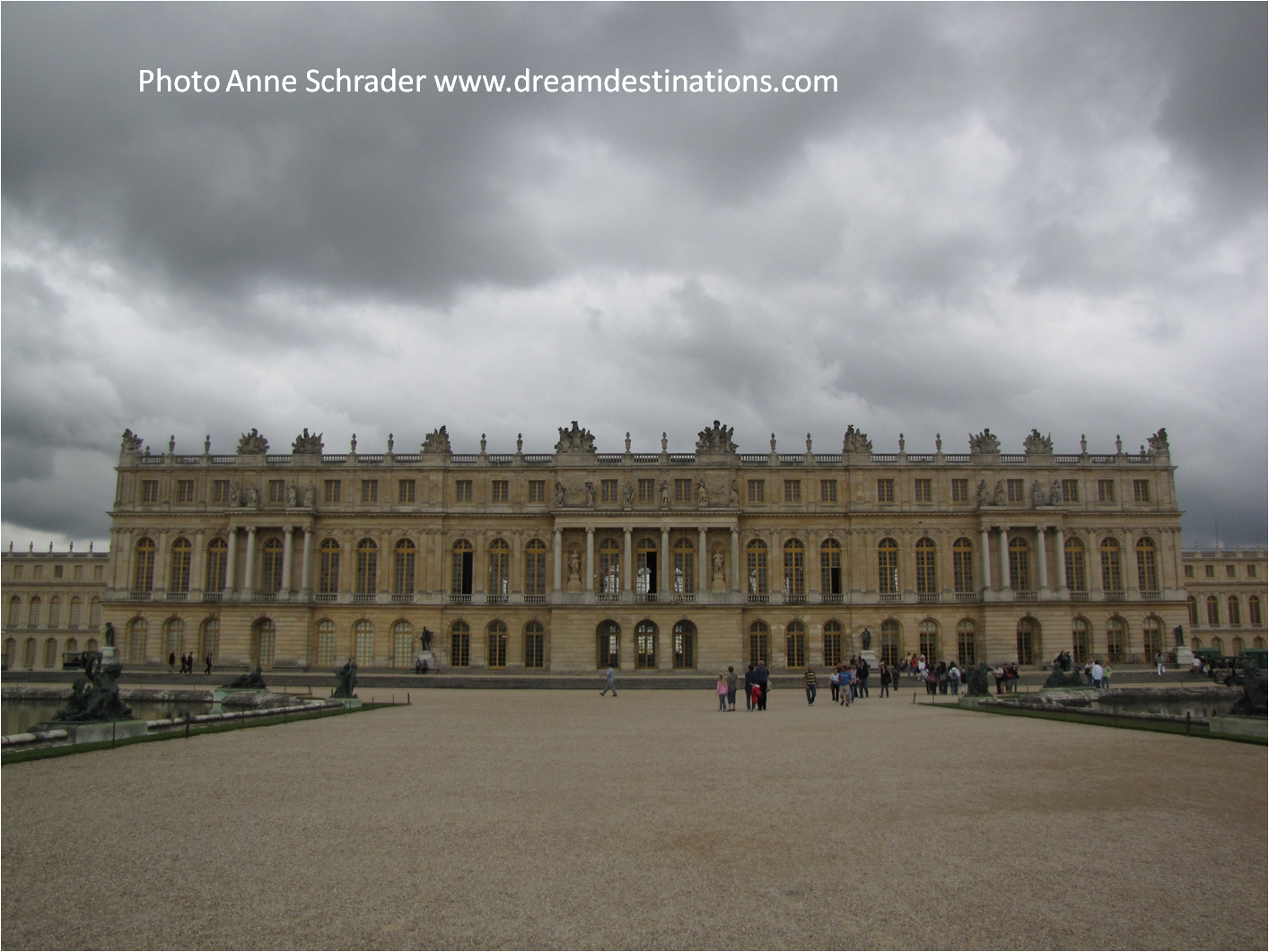 The back of #Versailles #Palace, Versailles France