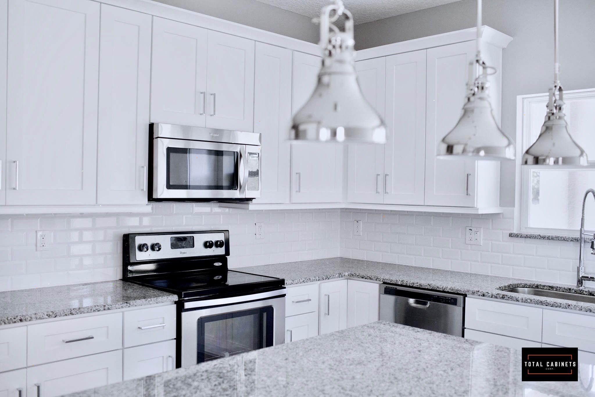 Transitional Kitchen White Shaker Cabinets White Shaker Cabinets