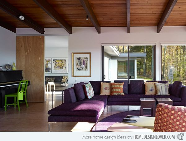 Watch living rooms from hgtv purple formal living room 03:08 purple formal living room 03:08 soft purple tones make sarah's enlarged living room formal but not fussy. 15 Catchy Living Room Designs with Purple Accent   Purple ...