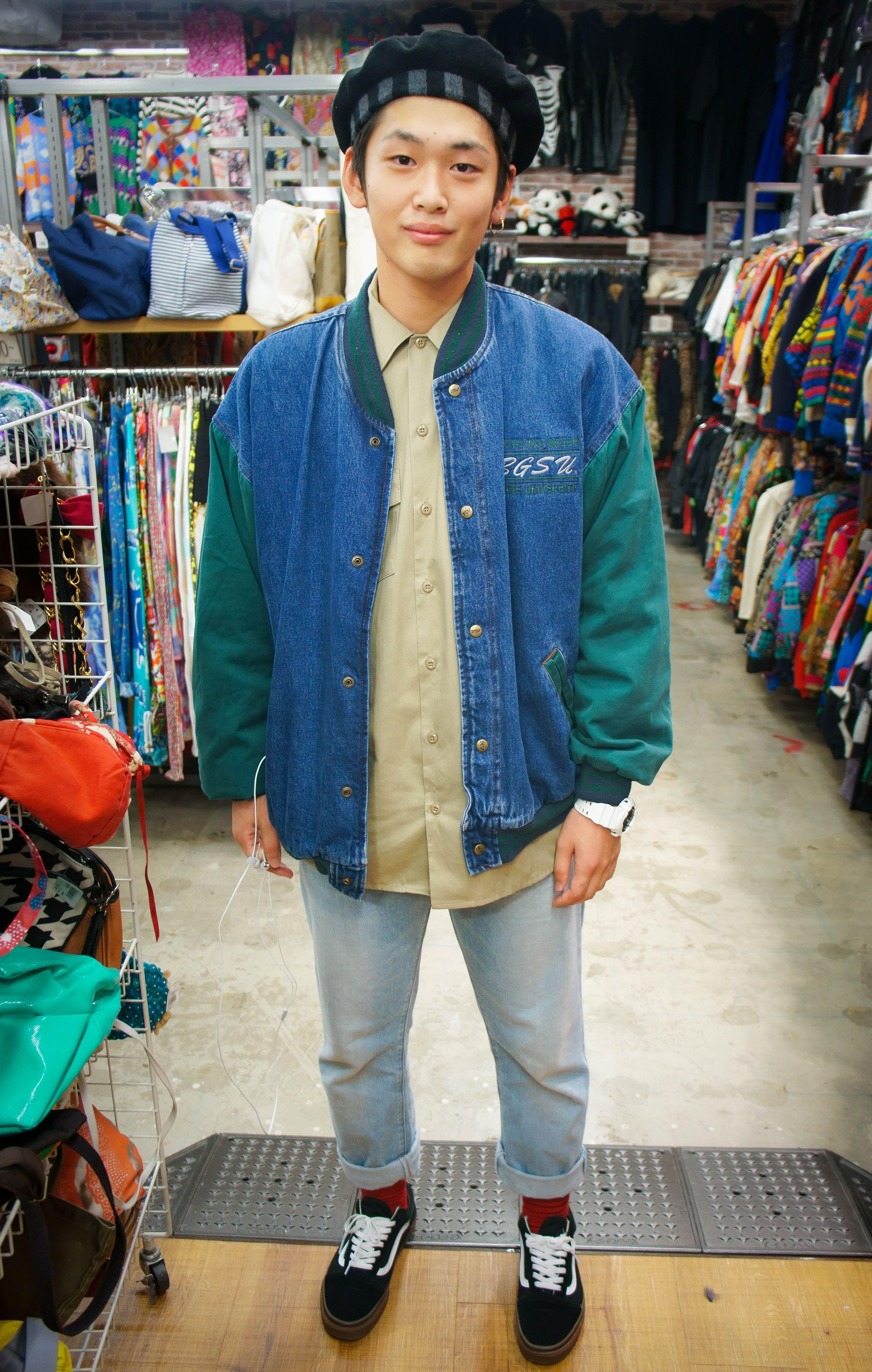 Streetwear Japan Men Fashion Mens Street Style Retro Outfits