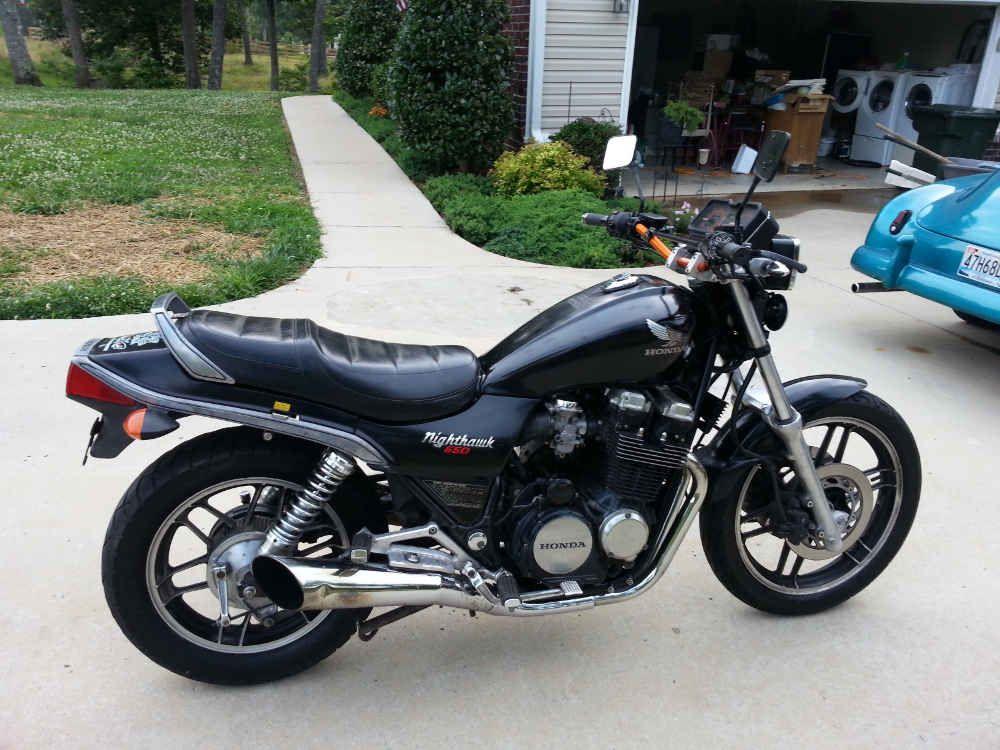 My 1984 Honda Cb 650sc Nighthawk Before Honda Nighthawk Honda Bikes Honda Motorcycles