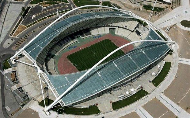 Panathinaikos Pinterest: Athens Olympic Stadium - Panathinaikos, AEK