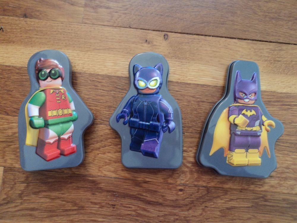 For sale! Lot of 3 McDonalds LEGO Batman Happy Meal Toys with Puzzle ...