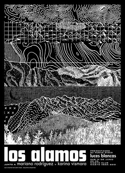 Gigposters Com Los Alamos Mariano Rodriguez Karina Vismara Bandas De Rock Disenos De Unas Imprenta