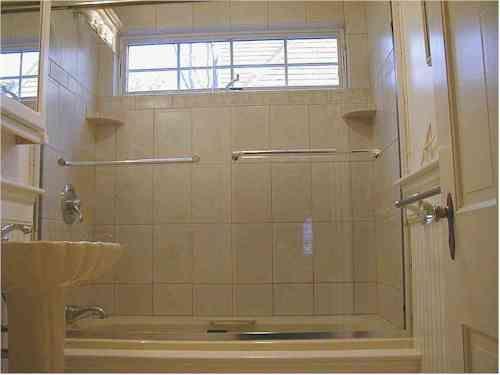 Bathroom Windows Over Shower windows just above shower | bathroom windows and treatments