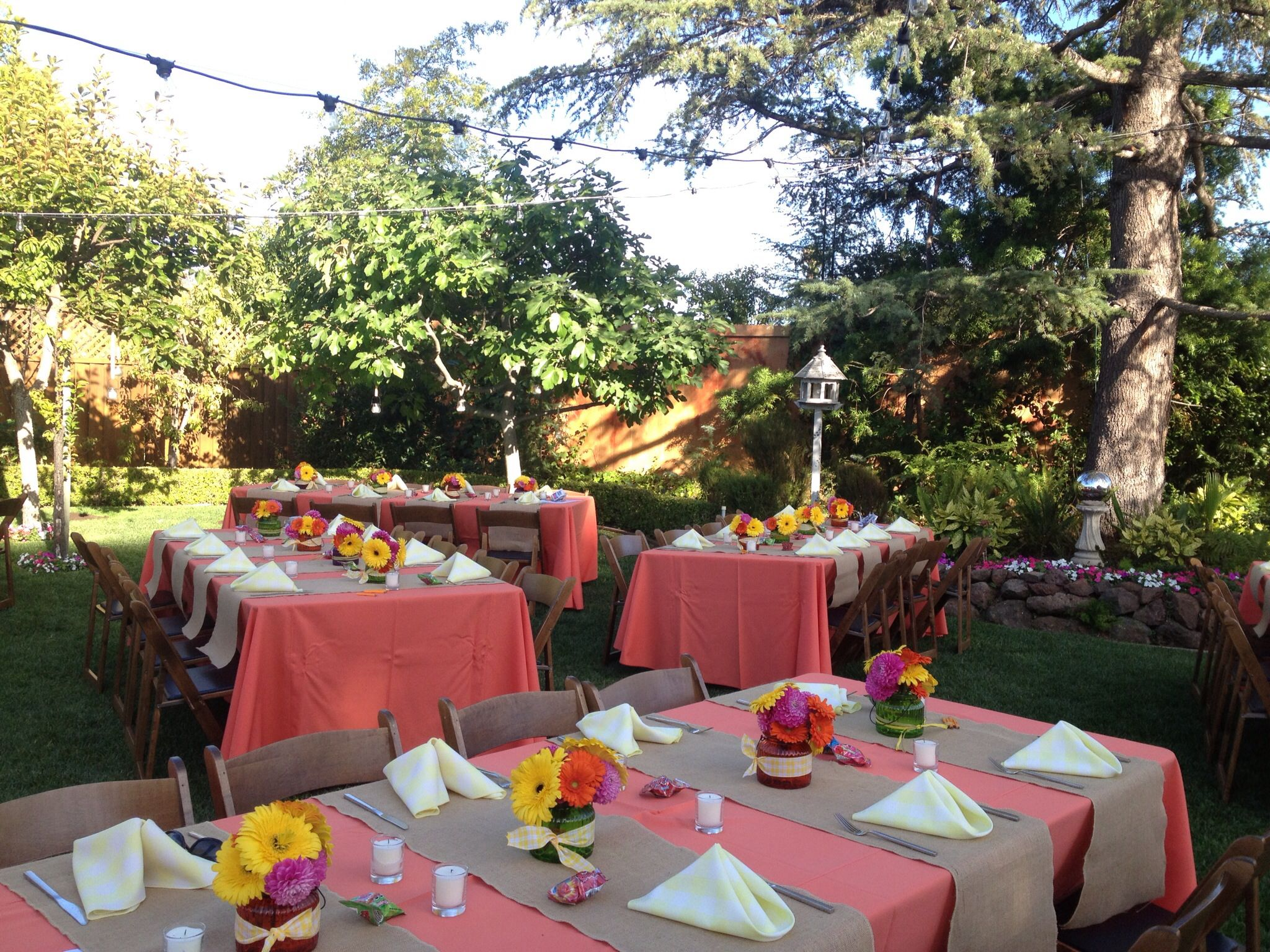 Party decor. Summer engagement party | Party Planning | Pinterest ...