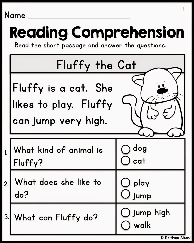 - Kindergarten Reading Comprehension Passages (With Images