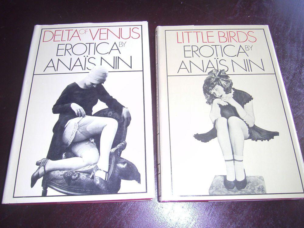 ANAIS NIN Delta Of Venus 1977 & Little Birds 1979 HCDJ Erotica BCE Sex Tales