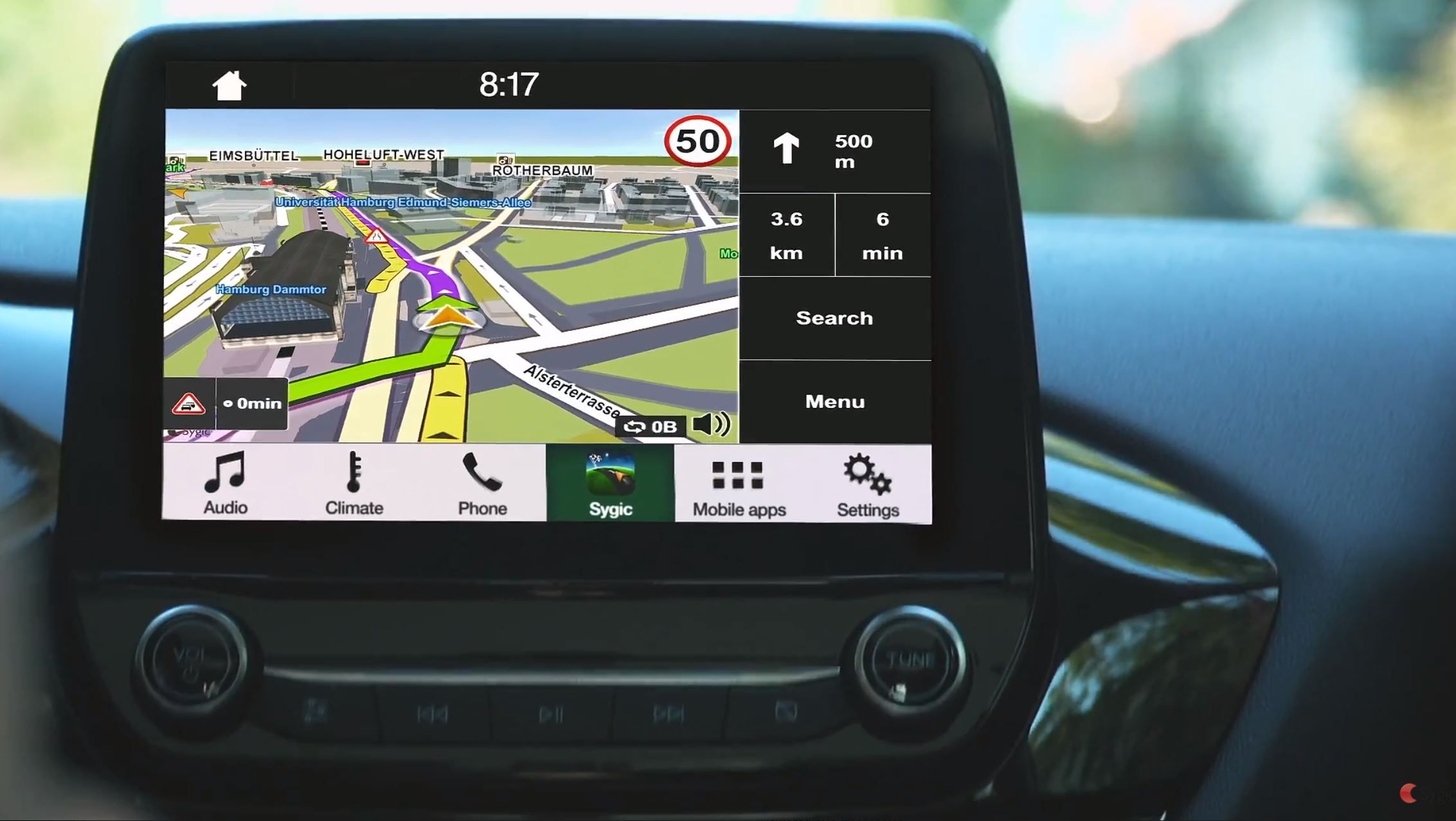 Sygic Driving Assistant Coming To Sync 3 Enabled Ford Models