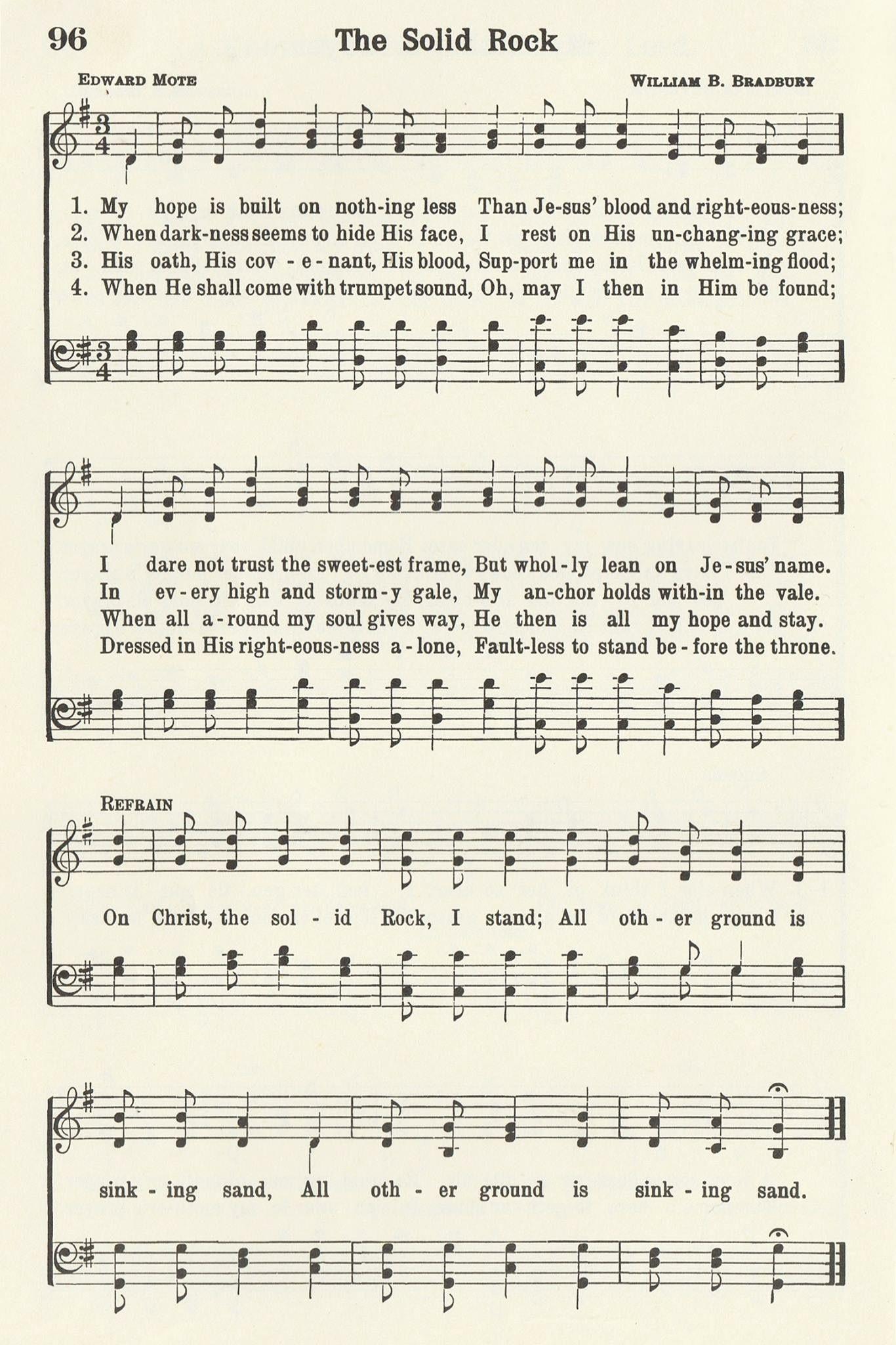 Pin by Joy Capozzi on Hymns Hymn sheet music, Christian