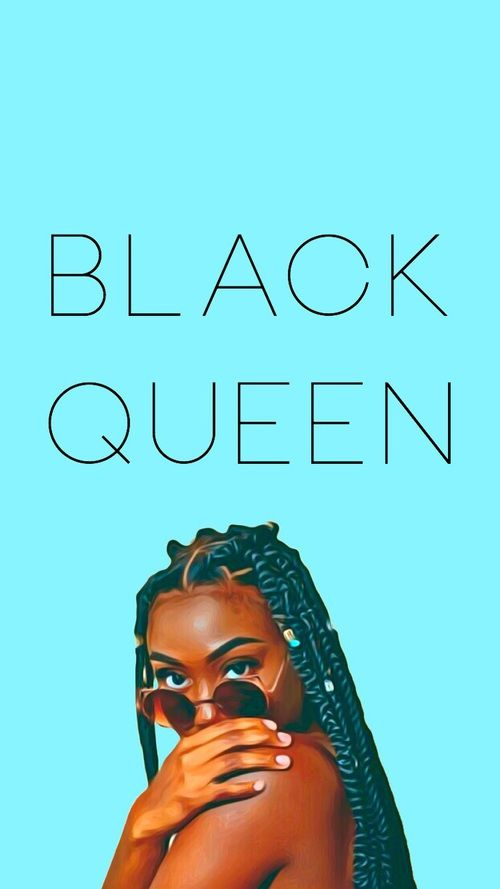 phone wallpaper, black queen, and melanin image Black
