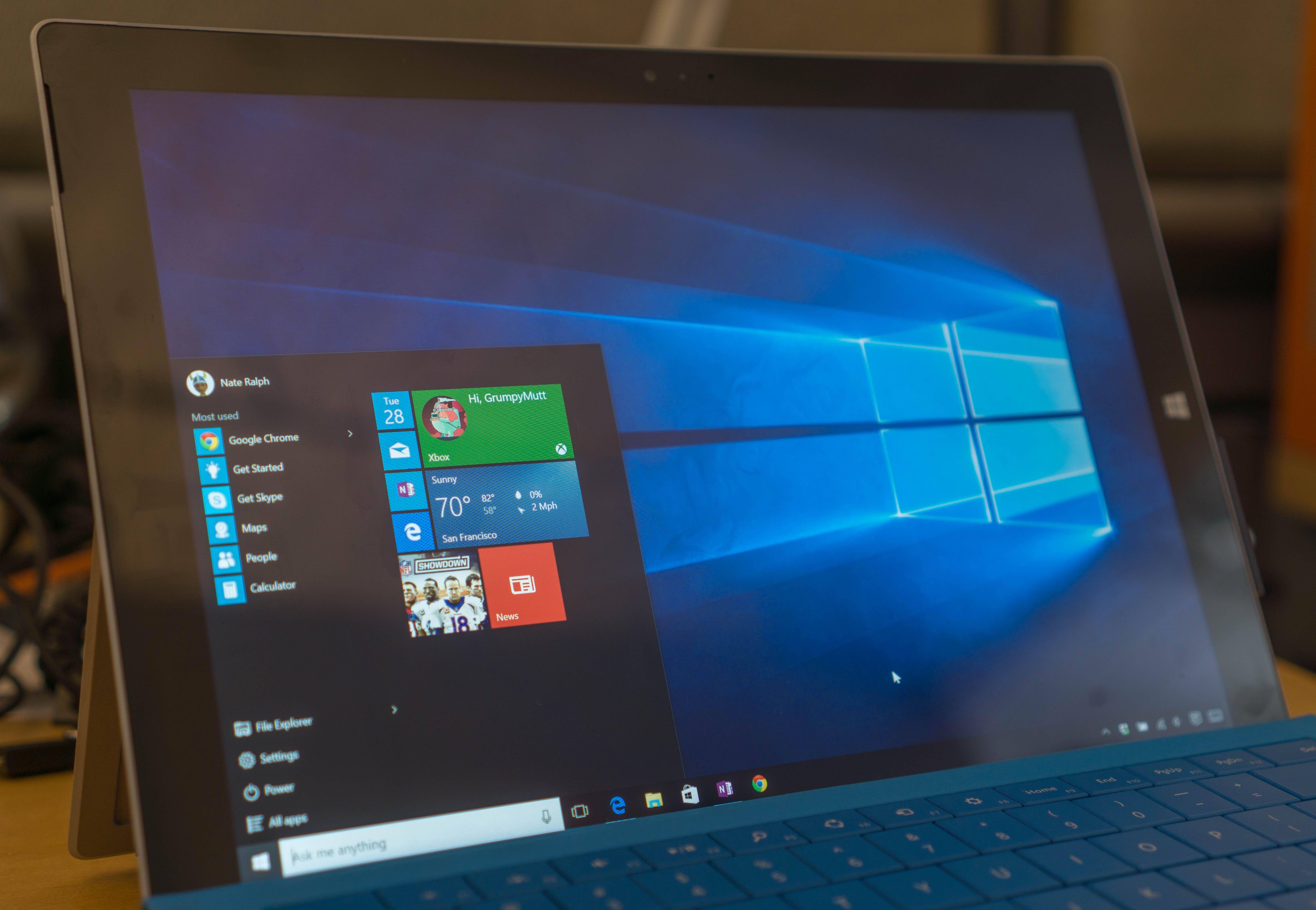 Microsoft Windows 10 Pro (With images) Windows 10
