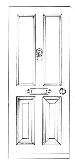 front door drawing. Victorian Exterior Drawing - Yahoo Image Search Results Front Door B