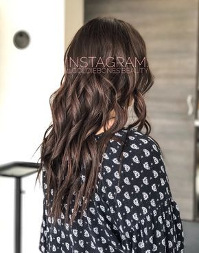All Over Chocolate Brown For Fall All Over Color With Wella 5 75 In Color Touch After We Filled Her Blondes With R Wella Hair Color Chocolate Brown Hair Hair