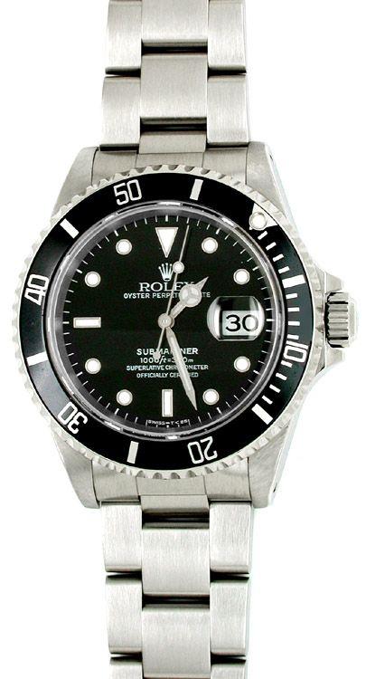 Armbanduhr rolex  Orig. Rolex Submariner Datum Edelstahl Armbanduhr Neuz., U1770 | Uhren