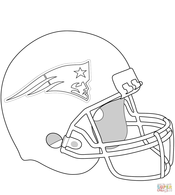 New England Patriots Helmet Super Coloring New England Patriots Helmet Football Coloring Pages New England Patriots