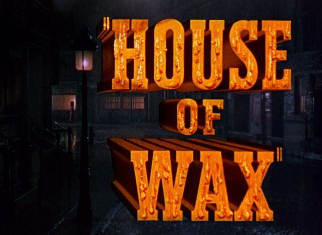 Image result for house of wax title