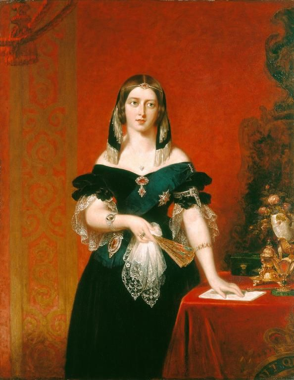 Queen Victoria Had Several Sittings For Her Portrait By Partridge