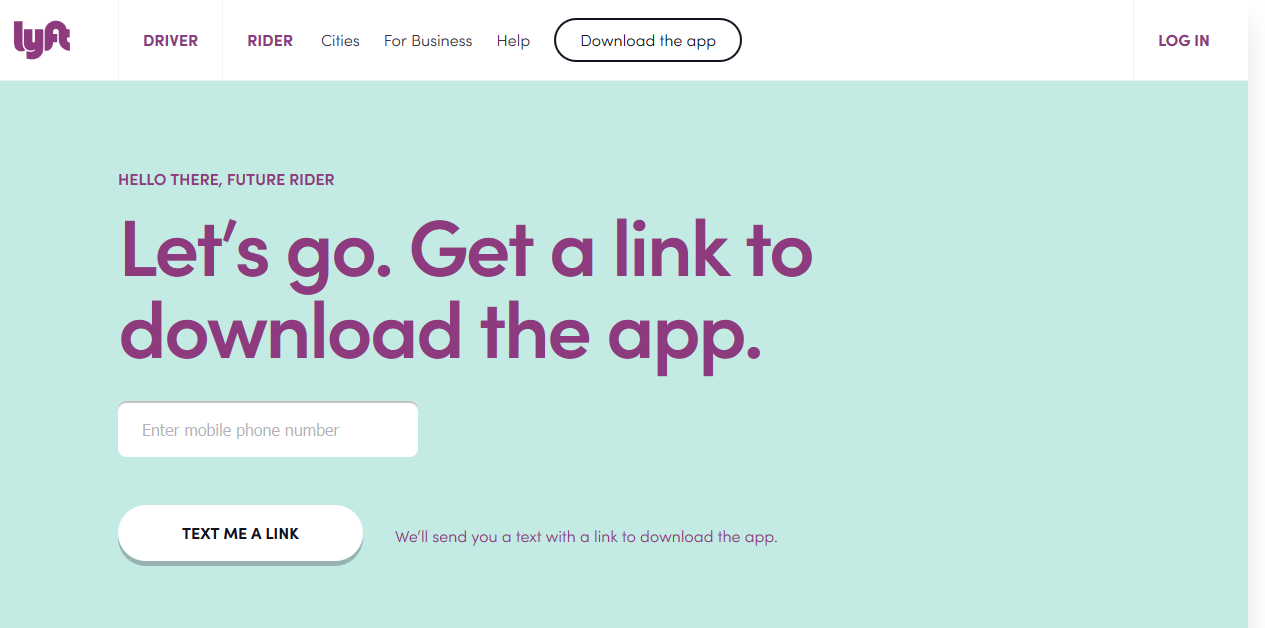 Laskeutumissivu App login, Landing page design, Page design