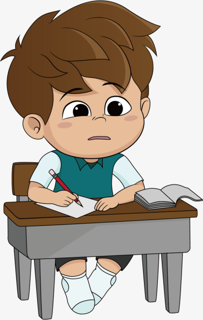 Person Doing Homework Png Cartoon Cartoon Pics Illustration