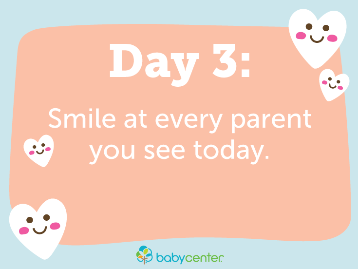 Because Life Is Hard Right Now Join Us For 14 Days Of Kindness Baby Center Life Is Hard Day