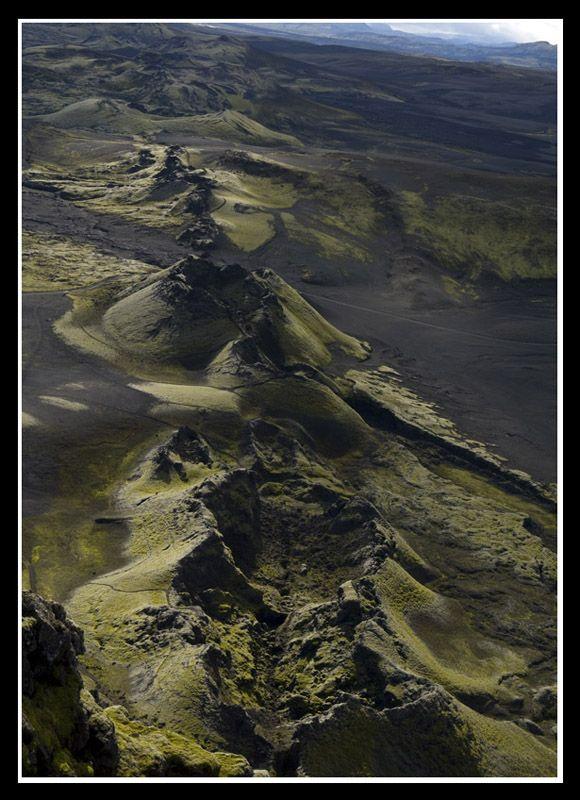 The Lakagigar volcanic system, Skaftafell National Park, Laki, Iceland Copyright: Michel Detay