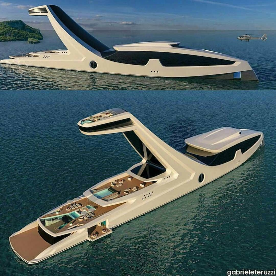 Good $150M Super Yacht. Yay Or Nay? Designed By @gabrieleteruzzi  #TheLuxuryOfMillionaires By Nice Ideas