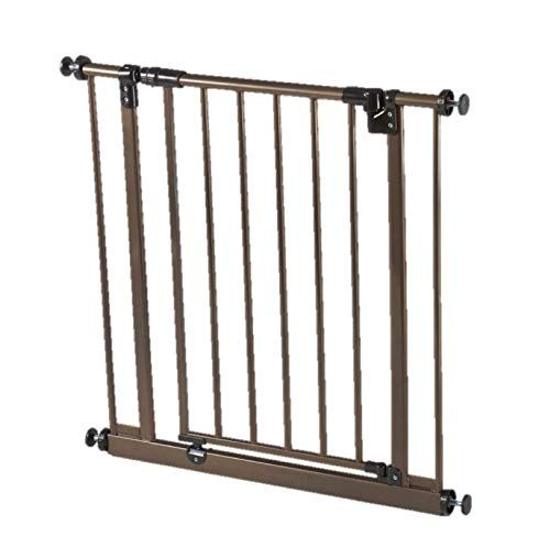 """/""""Easy-Close Gate/"""" North States The multi-directional swing gate with triple"""