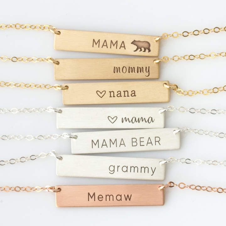 Etsy mothers day personalized gift for grandmacustom