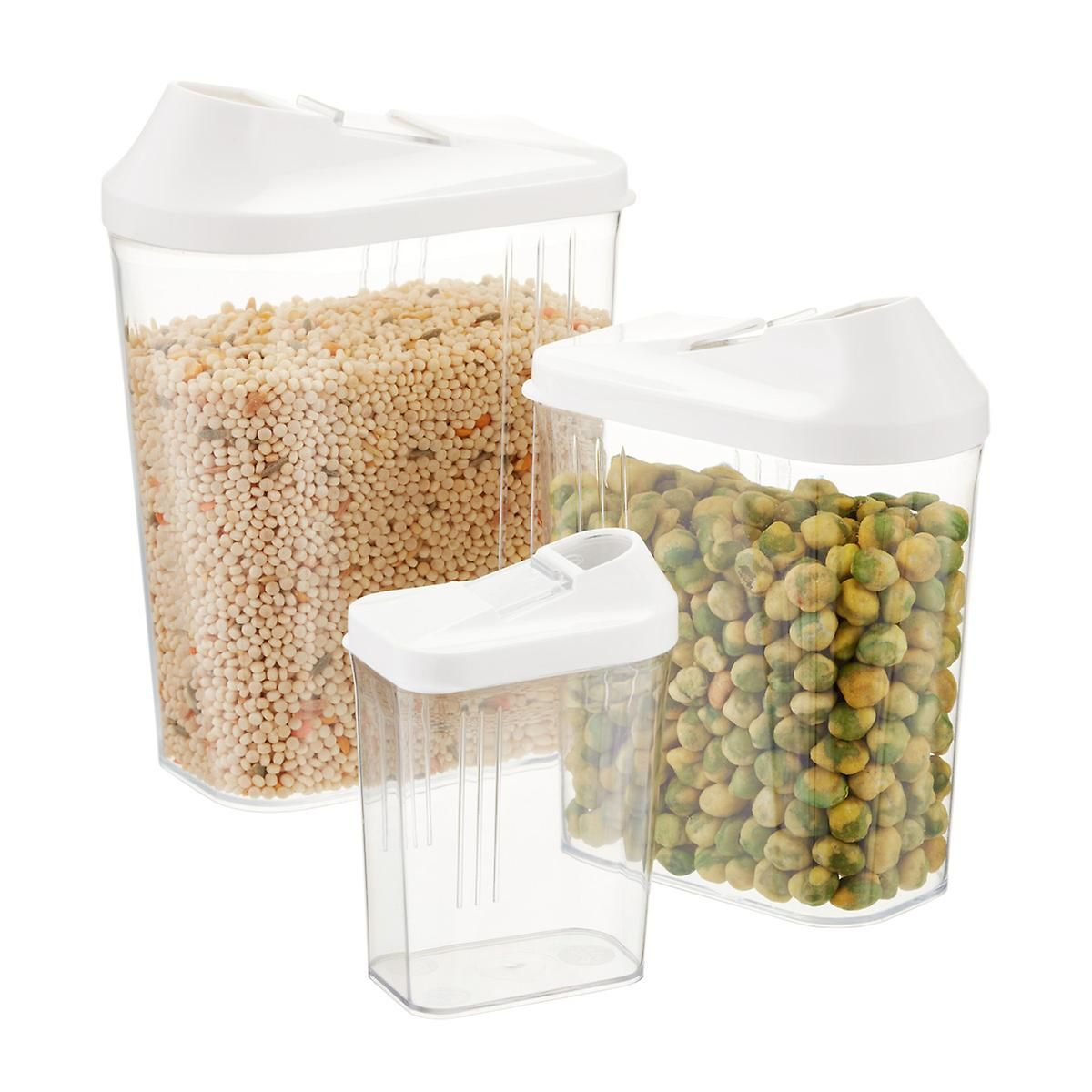 Slide & Pour Dispensers The Container Store For Nuts